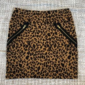 Cheetah Skirt